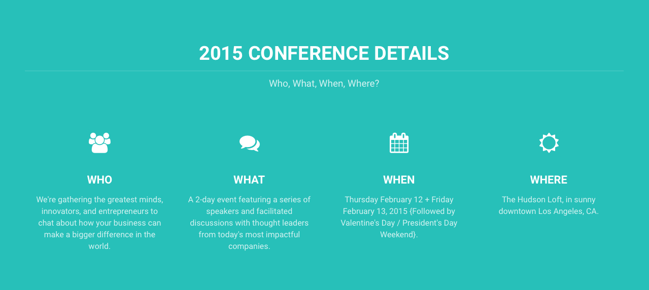 2015 CONFERENCE - The Heart Series